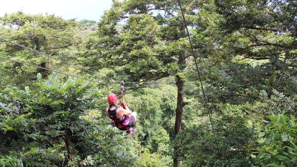 Bastimentos Sky Zipline Canopy Tour, Panamá