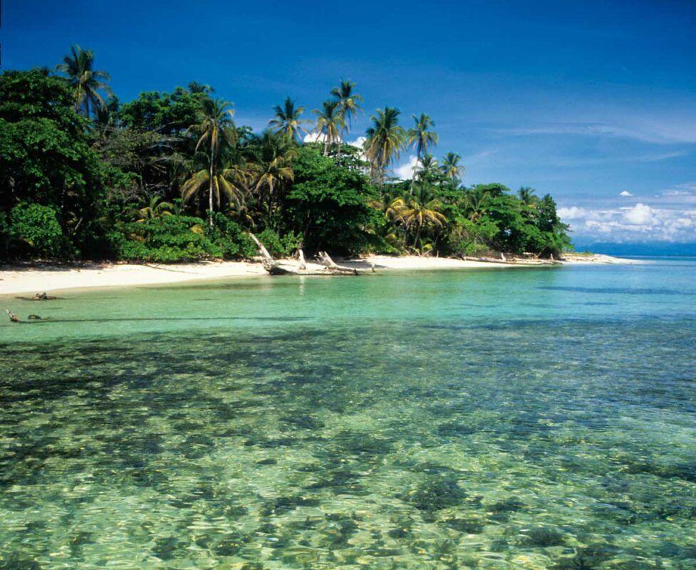 Dónde está Cayo Agua, Panamá