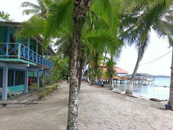 Cayo Carenero, Panamá