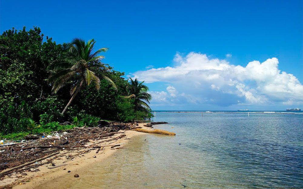 La isla Galeta, Panamá