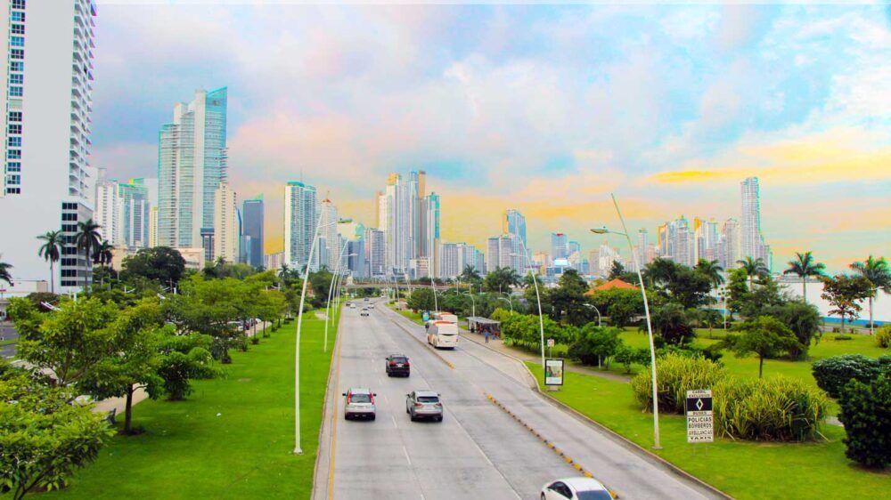 Dónde está Avenida Balboa, Panamá