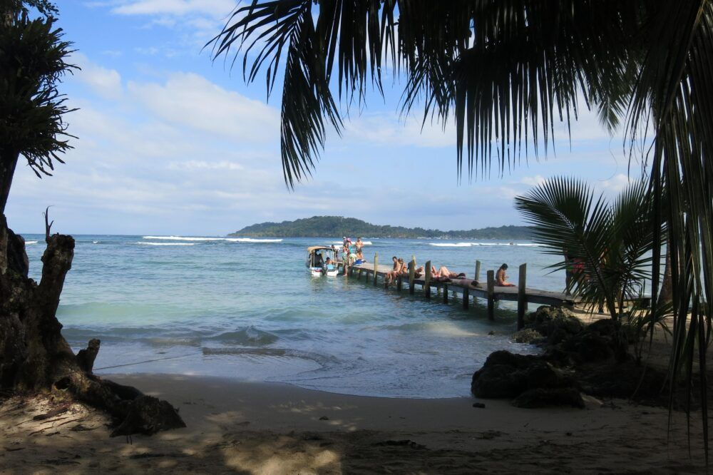 Dónde está Cayo Carenero, Panamá