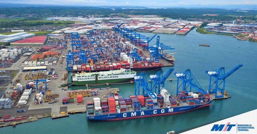 Colón en Panamá