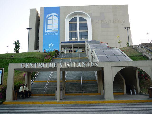 centro de visitantes miraflores , canal de panama