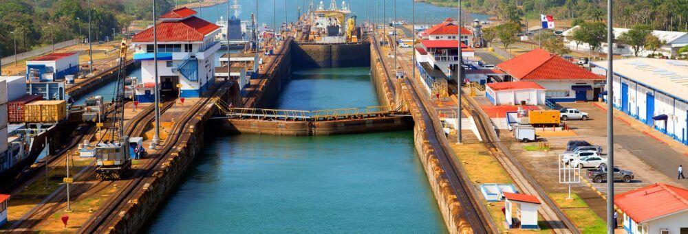 Las esclusas del canal de Panamá