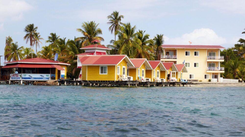 Dónde está Isla Carenero, Panamá