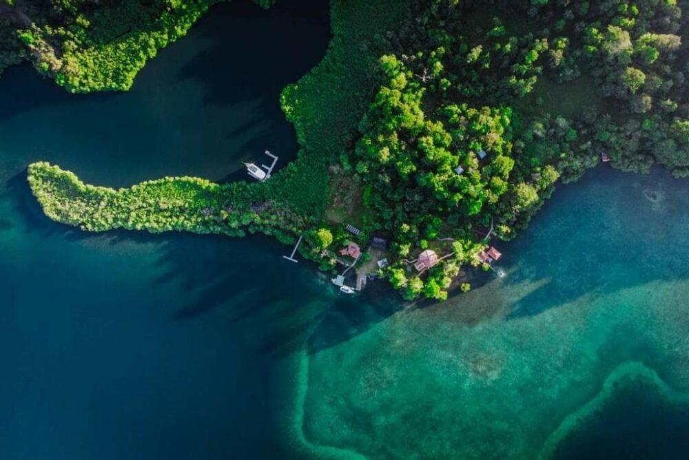 Dónde está Isla Solarte, Panamá