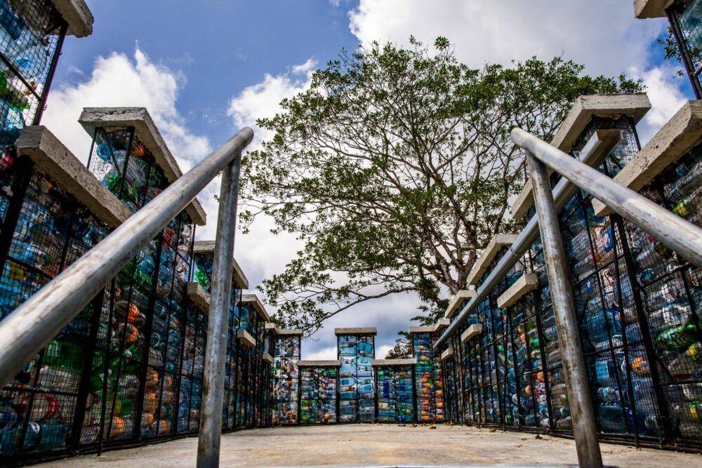 Plastic bottle Village, Panamá