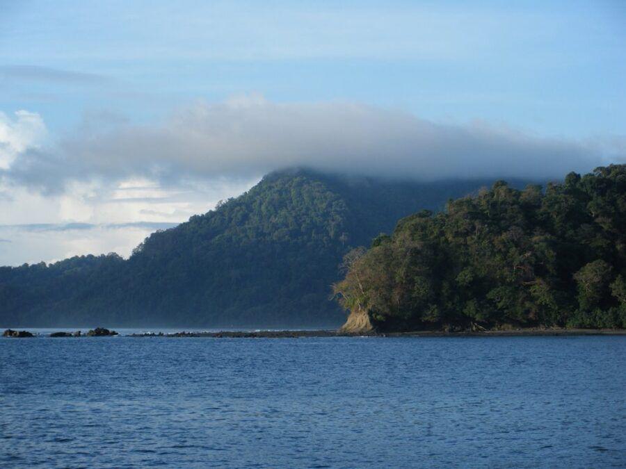 Donde esta Isla Jicarita, Panamá.