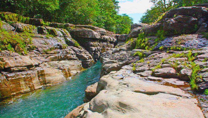 Los Cangilones de Gualaca, Panamá