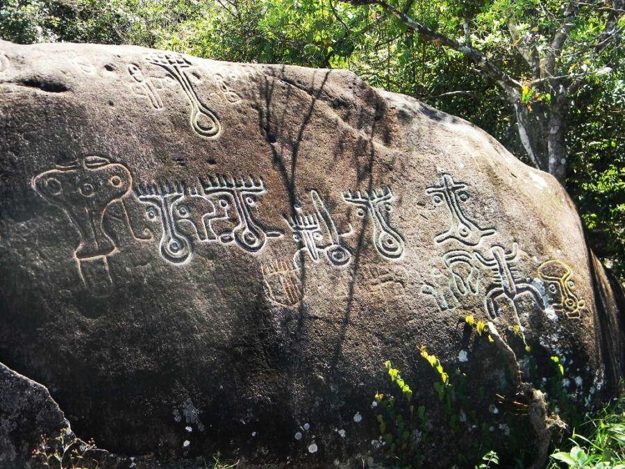 Piedra Pintada, Panamá