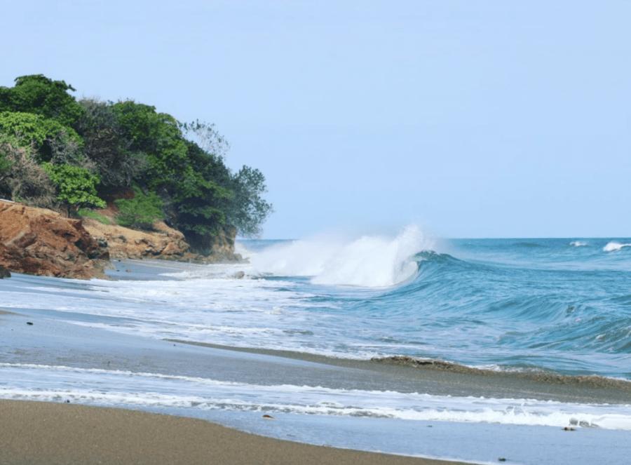 Dónde está Playa Los Destiladeros, Panamá