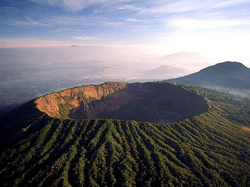 Erupción volcán en Panamá -